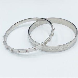 Kate Spade of New York 2 Bangle Bracelets